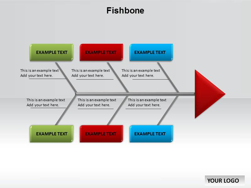 Fishbone Chart Powerpoint Templates And Backgrounds