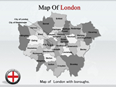 London Maps powerPoint template