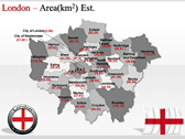 London Maps powerPoint templates