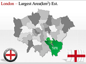 London Maps powerpoint template download