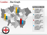 London Maps background PowerPoint Templates
