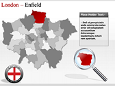 London Maps design for power point