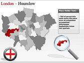 London Maps power point background graphics