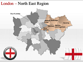 London Maps powerpoint theme download