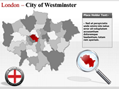 London Maps powerpoint theme professional