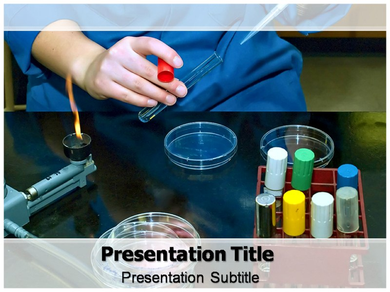 microbiological media powerpoint templates and backgrounds, Modern powerpoint