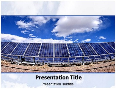 solar energy system powerpoint templates, ppt backgrounds, slides, Presentation templates