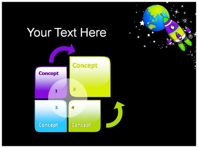 space shuttle powerpoint template - photo #31