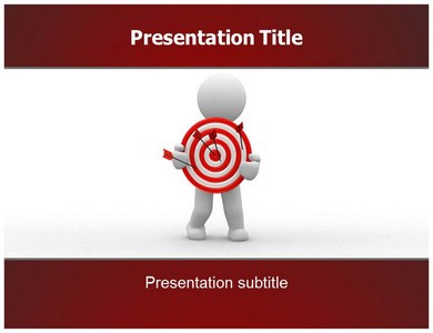 target powerpoint templates, ppt slides, ppt themes, Modern powerpoint