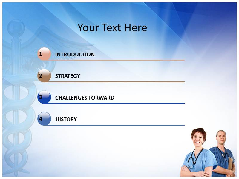 Nurse Animated Powerpoint Templates And Backgrounds