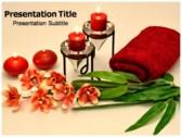 Aromatherapy powerPoint template