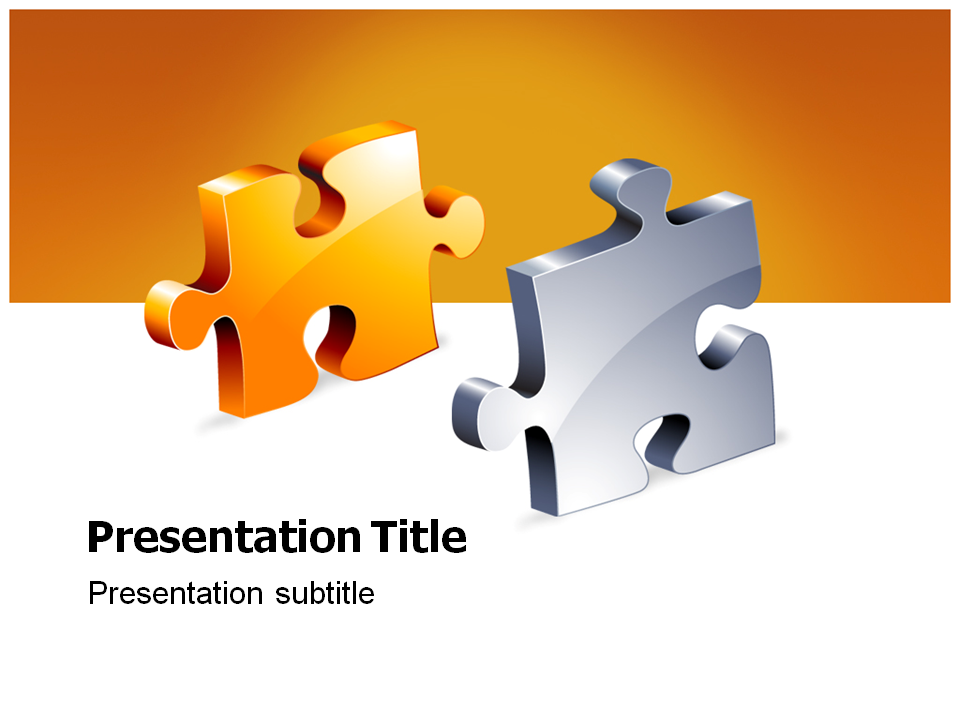 Jigsaw Template For Powerpoint Gallery - Template Design Ideas