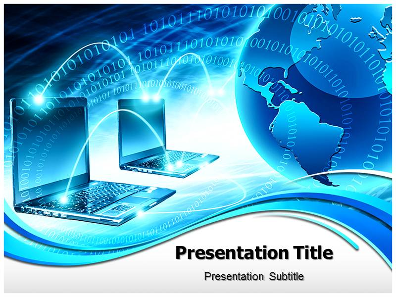 Global computer network powerpoint templates and backgrounds download toneelgroepblik Gallery