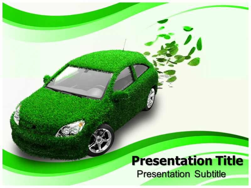 Eco friendly car powerpoint templates and backgrounds download toneelgroepblik Image collections
