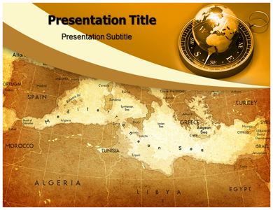 Middle East PPT Presentation Template