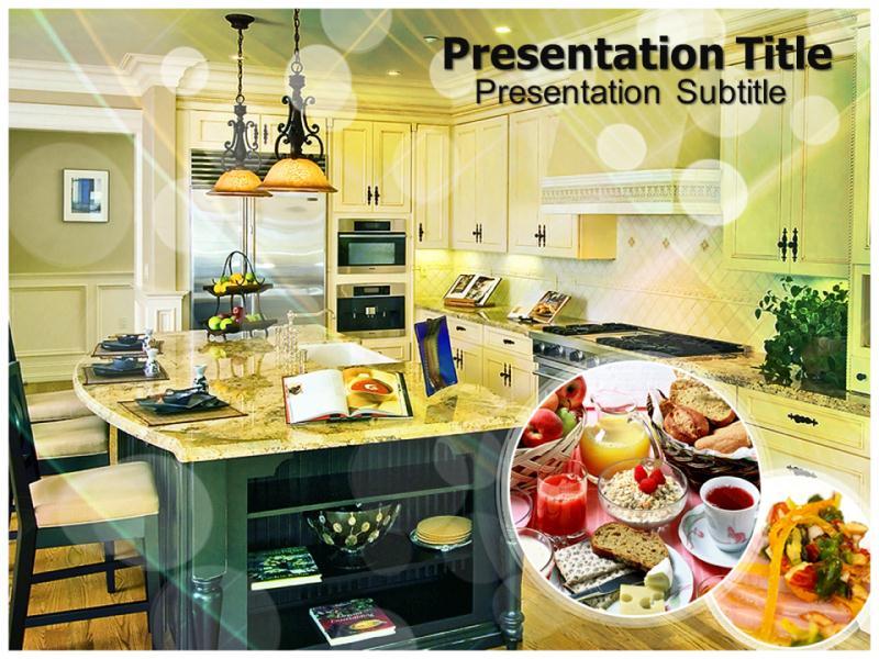 Kitchen powerpoint templates and backgrounds download toneelgroepblik Gallery