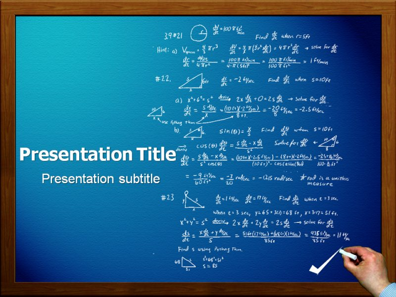 Math powerpoint templates and backgrounds download toneelgroepblik Images