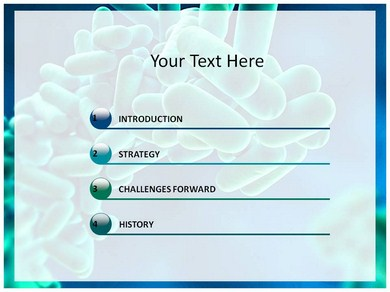 microbiology powerpoint templates and backgrounds
