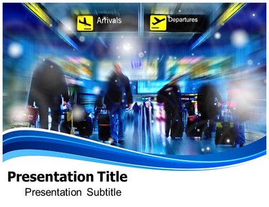 airport powerpoint templates | powerpoint templates for airport, Modern powerpoint