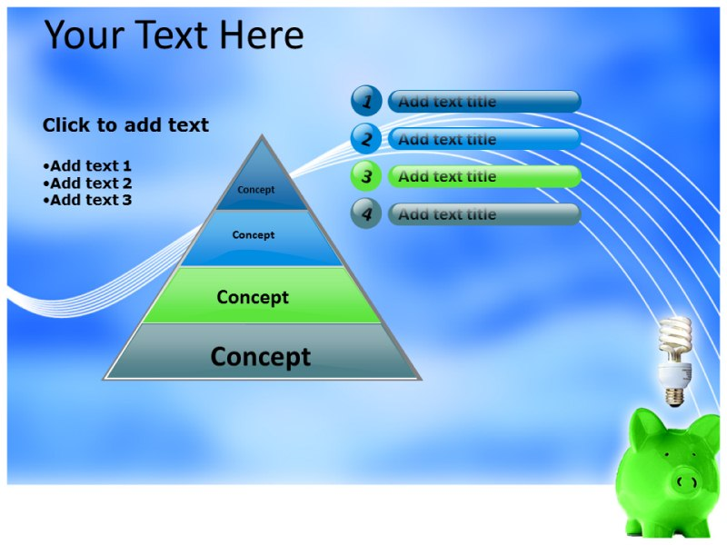 how to create a powerpoint template slide