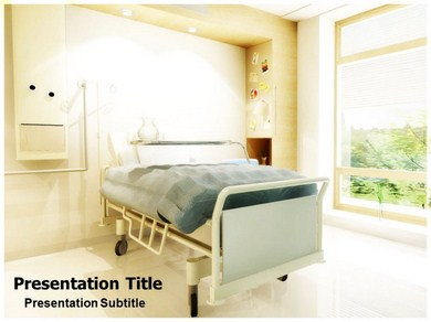 Hospital room powerpoint templates and backgrounds hospital room ppt presentation template toneelgroepblik Choice Image
