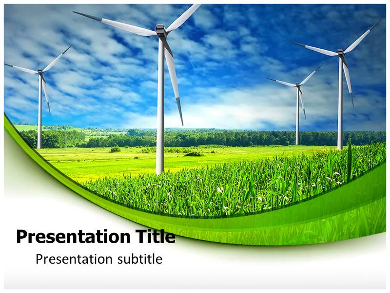 Renewable Energy PPT Templates, Renewable Energy PPT Background ...