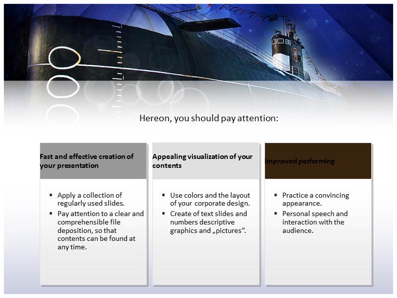 navy submarine powerpoint templates, ppt backgrounds, slides, themes, Presentation templates