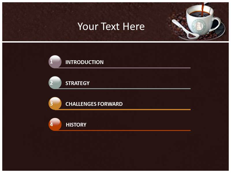 starbucks powerpoint templates and backgrounds, Modern powerpoint