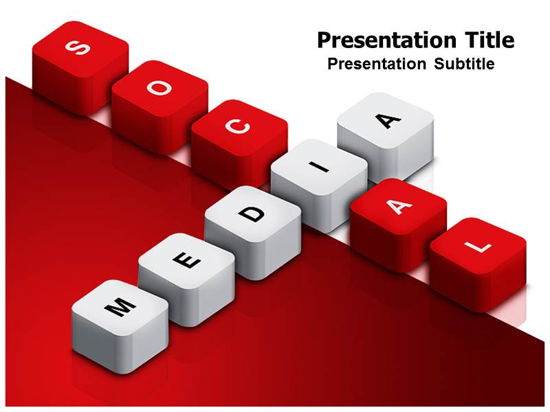 social media powerpoint templates ppt presentation backgrounds