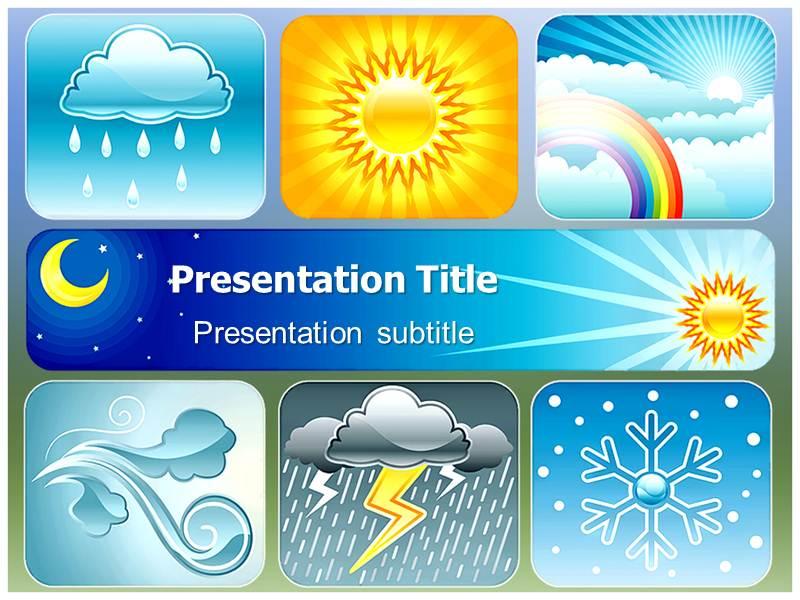 Weather powerpoint templates and backgrounds download toneelgroepblik Images