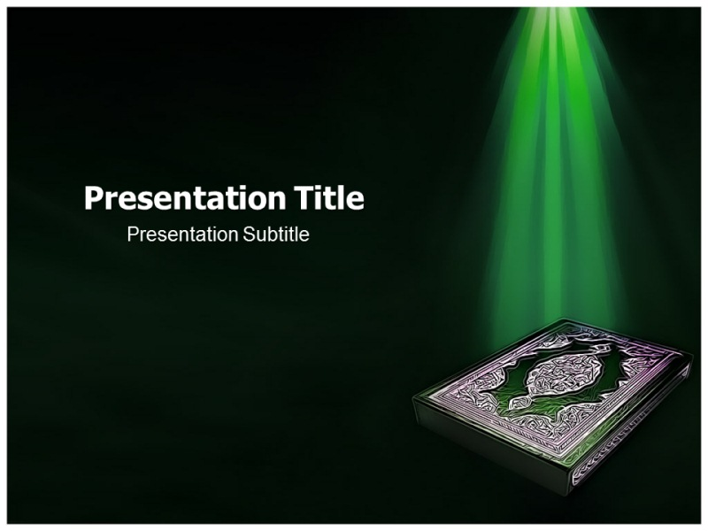 islam religion powerpoint templates  powerpoint themes