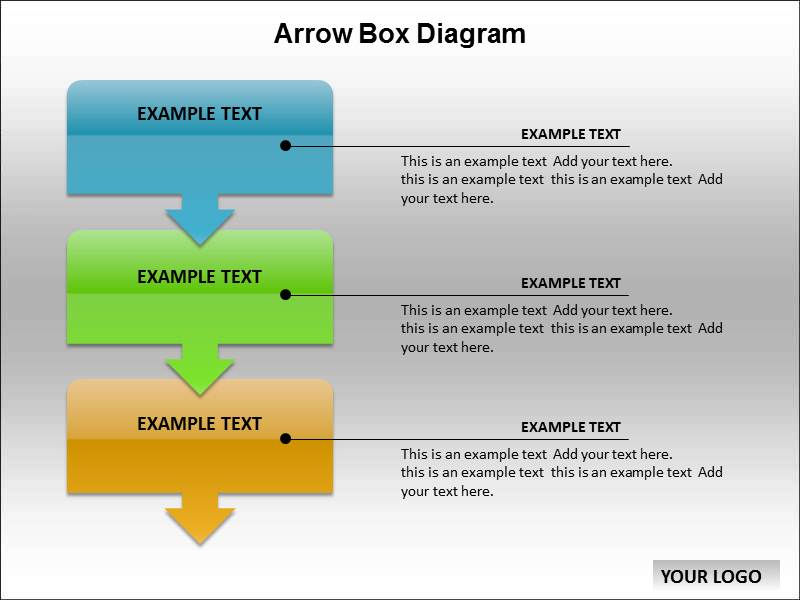 arrow box diagram templates for powerpoint arrow box. Black Bedroom Furniture Sets. Home Design Ideas