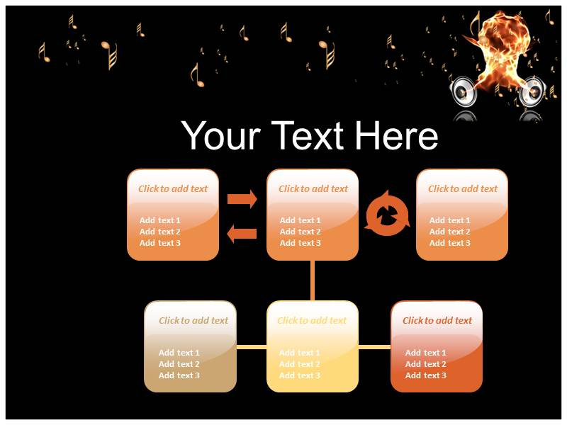 how to add music to play with powerpoint