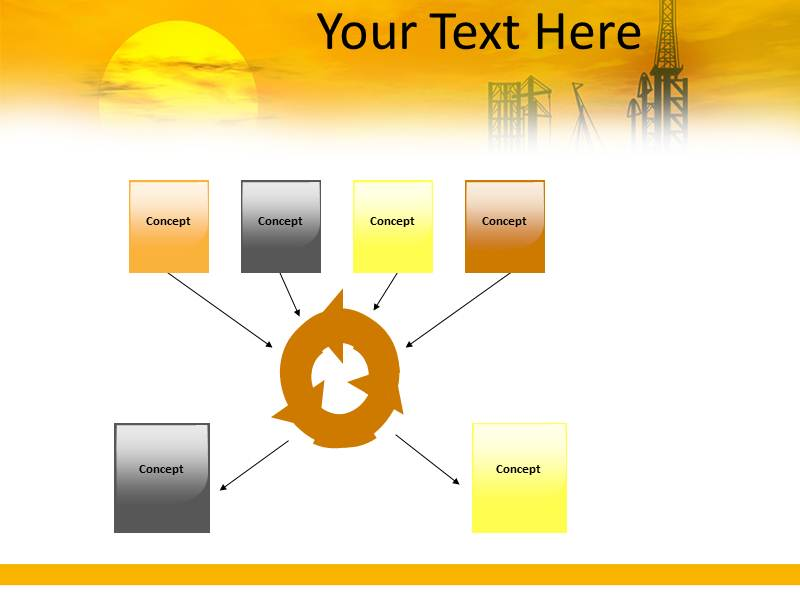 Crude Oil Refinery PowerPoint Templates, PPT Backgrounds, Slides
