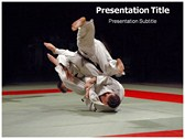 judo powerPoint template
