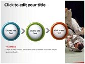 judo power Point templates