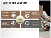 judo background PowerPoint Templates