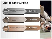 judo ppt themes template