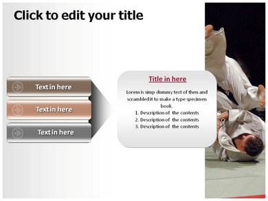 judo Templates For Powerpoint