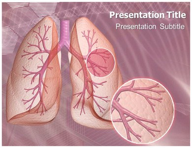 Bronchopneumonia PPT Presentation Template