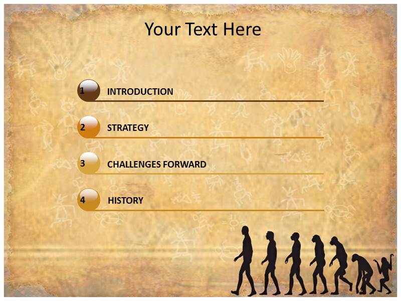 History and evolution powerpoint templates and backgrounds download toneelgroepblik Images