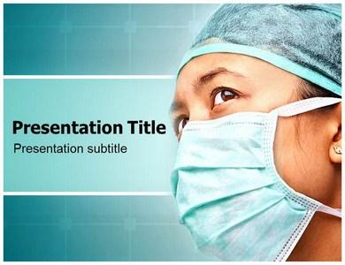Medical Face Masks PPT Presentation Template