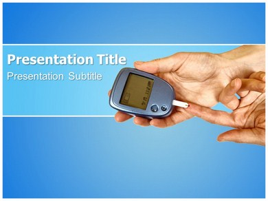 diabetes check powerpoint templates and backgrounds, Powerpoint