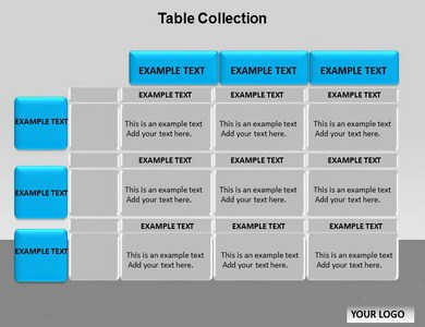 table collection chart powerpoint templates and backgrounds, Modern powerpoint