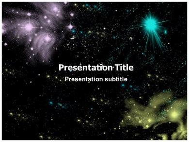 Universe space galaxy ppt templates powerpoint themes backgrounds universe space galaxy ppt presentation template toneelgroepblik Choice Image