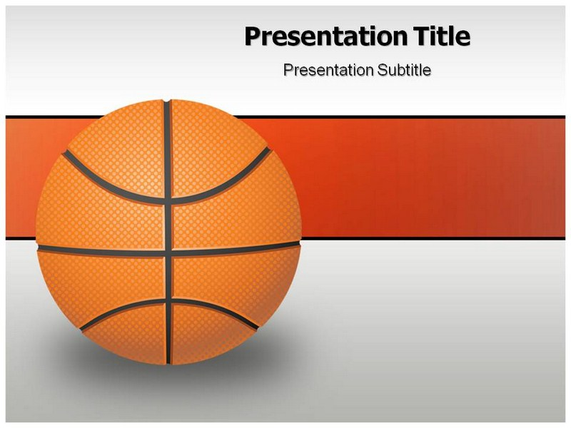 Basketball Game PowerPoint Templates and Backgrounds – Basketball Powerpoint Template