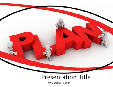 Business Team Plan PPT Presentation Template