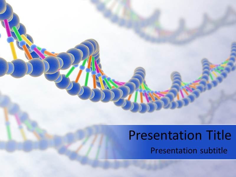 Dna strand powerpoint templates and backgrounds download toneelgroepblik Choice Image