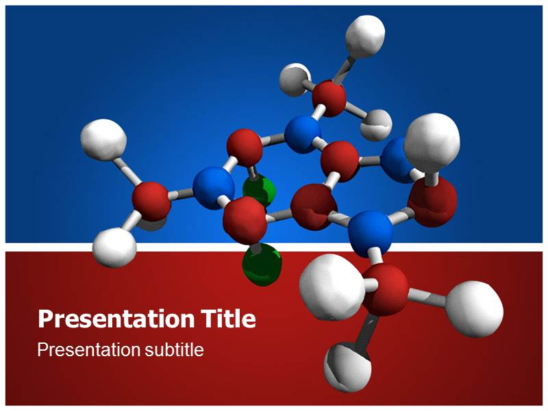 Organic Chemistry Powerpoint Templates And Backgrounds