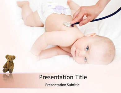 Baby checkup powerpoint templates and backgrounds for Pediatric powerpoint templates free download